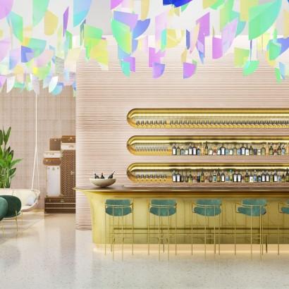 ресторан Louis Vuitton