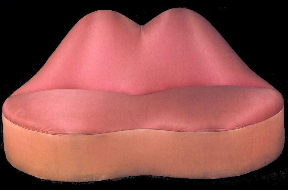 Диван-губы