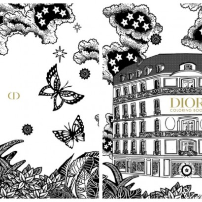 Dior coloring book