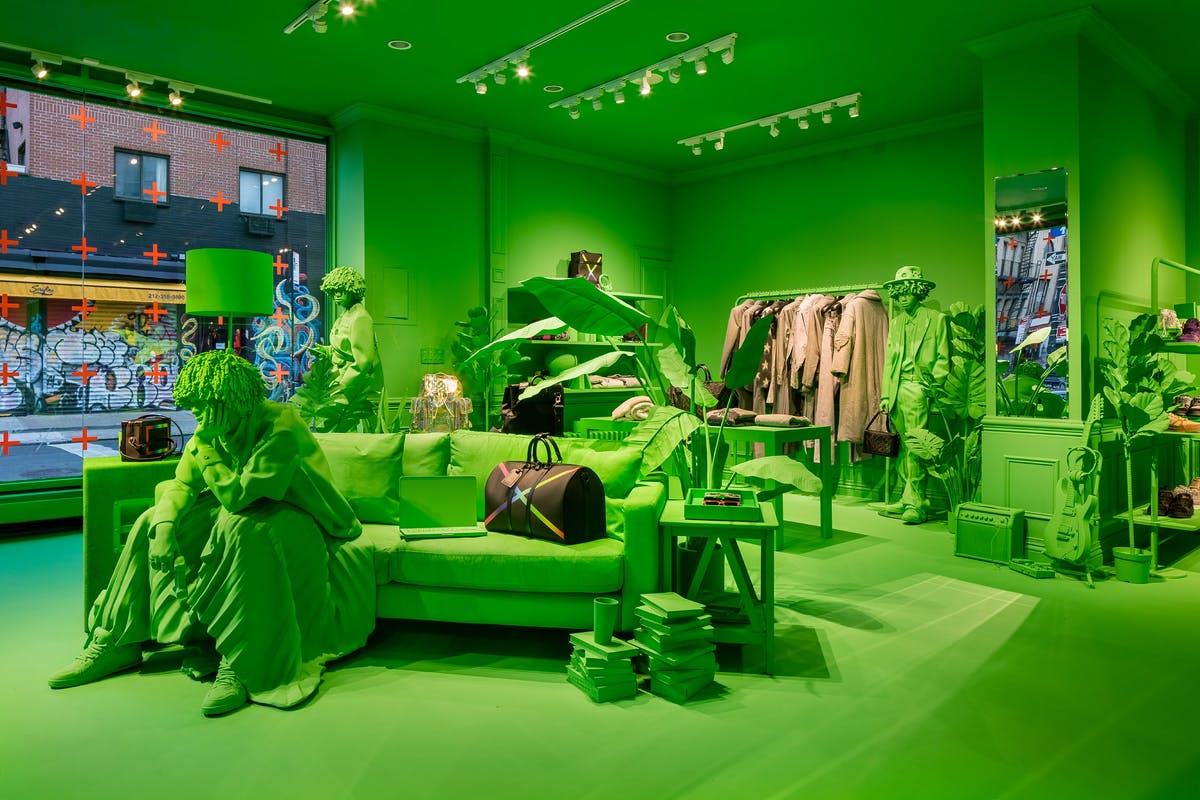 Louis Vuitton pop up store