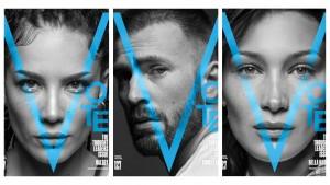 Thought Leaders: Крис Эванс, Белла Хадид, Холзи и другие на обложках V Magazine
