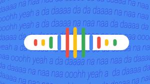 Теперь в Google можно найти песню, напев её мотив