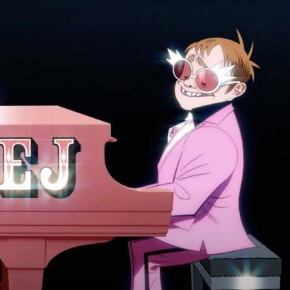 Gorillaz - The Pink Phantom ft. Elton John