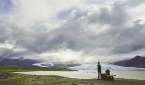 Исландские пейзажи в кампейне Louis Vuitton