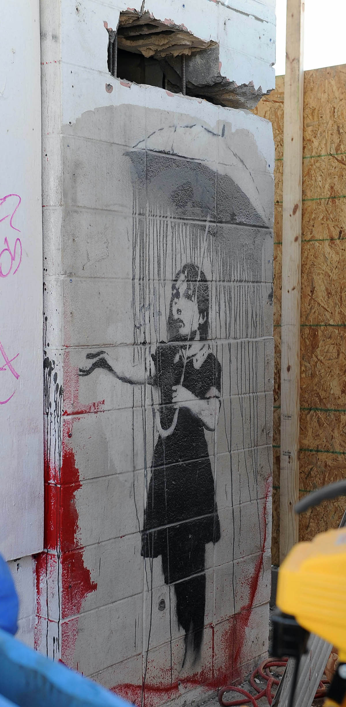 Banksy Attempted Theft