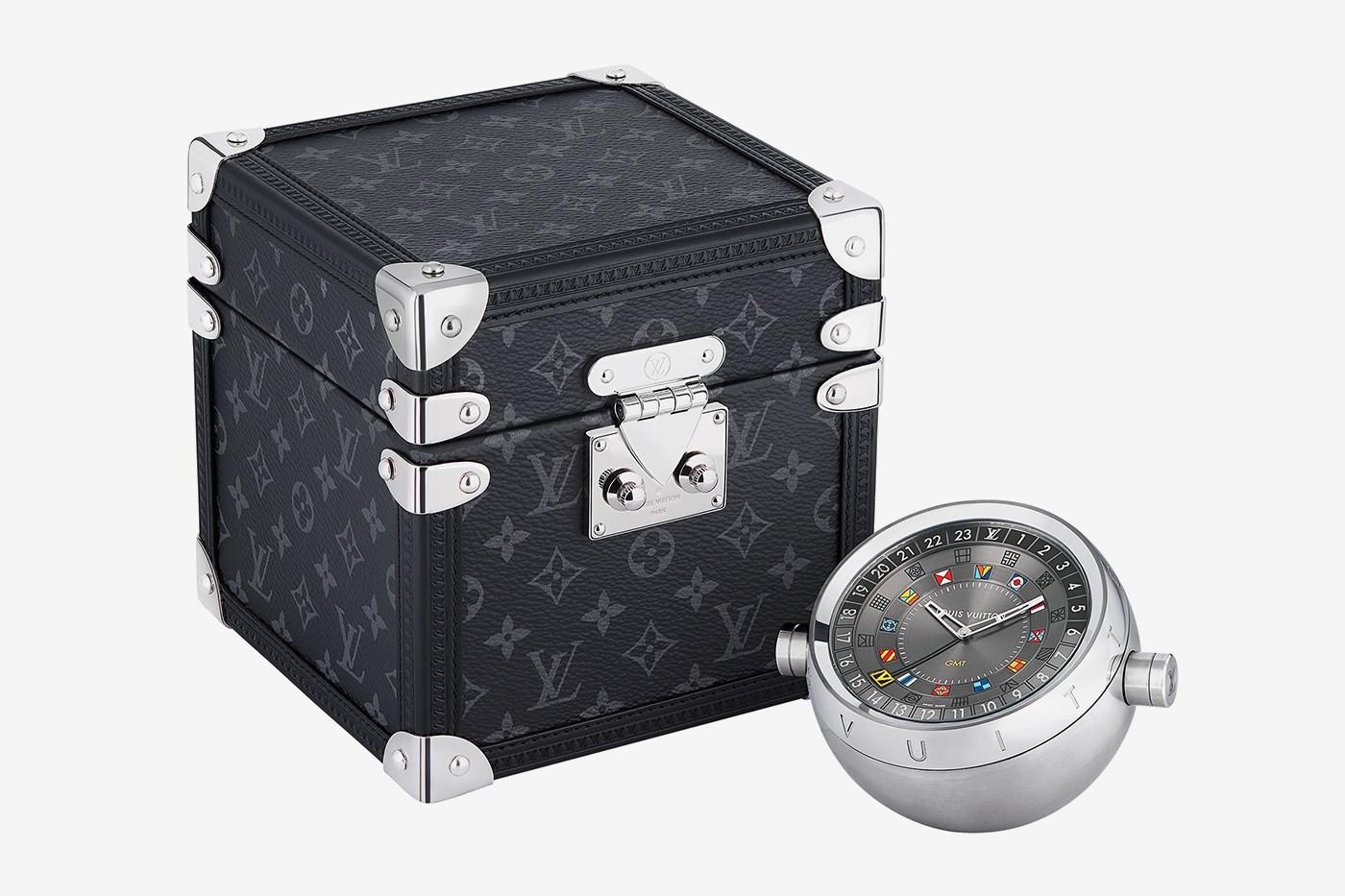 дорожные часы в кейсе