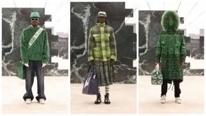 Юбки, клетка тартан и самолёты: Louis Vuitton Men FW21