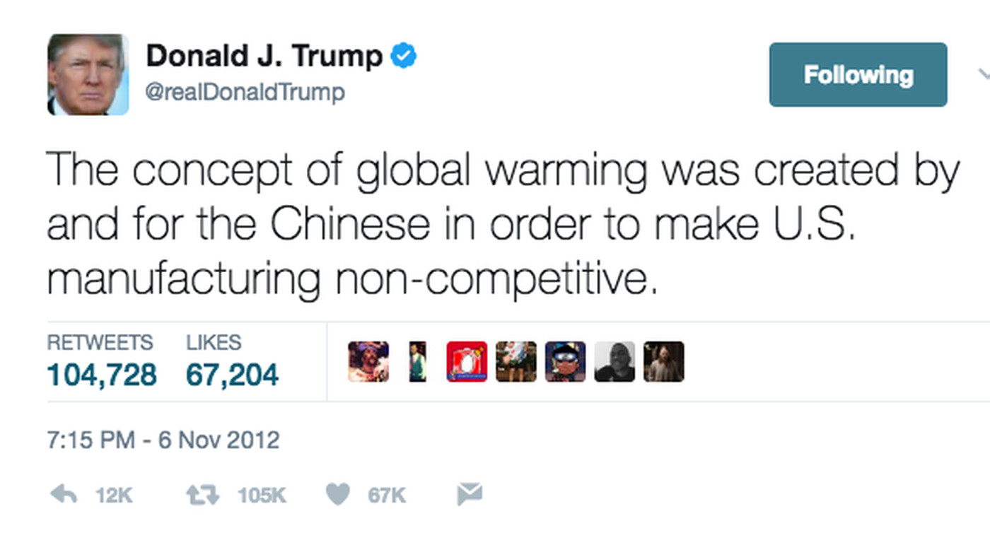 трамп твит