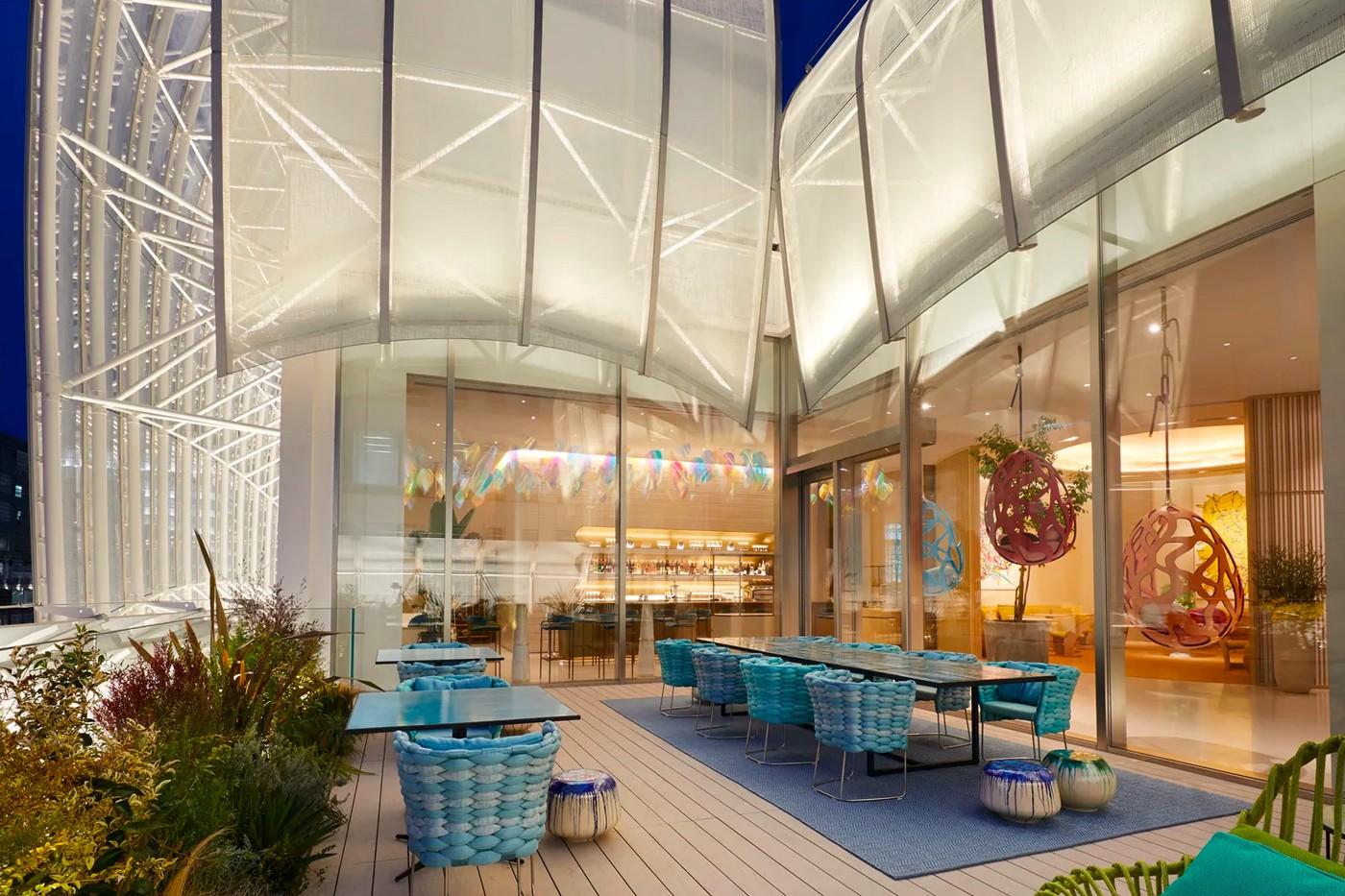 Louis Vuitton restaurant 5