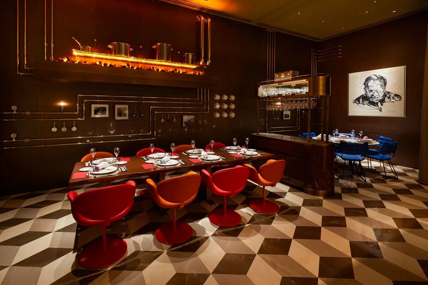 Louis Vuitton restaurant 7