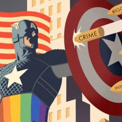 Капитан Америка - заглавная